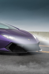 Purple Lamborghini 5k