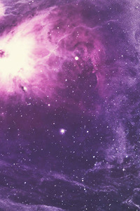 540x960 Purple Nebula 4k