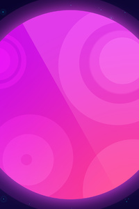 Purple Planet Art