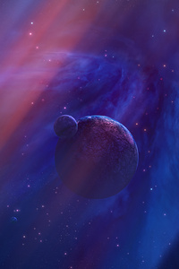 Purple Planet Space