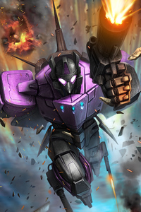 1440x2560 Purple Transformers