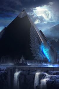 480x800 Pyramid Artwork