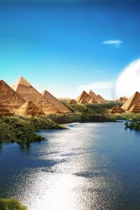 320x480 Pyramids Of Utpoia Beautiful Scenery
