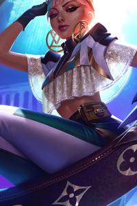 Qiyana League Of Legends 4k