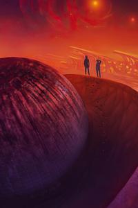 800x1280 Quantum Foam Planet 4k