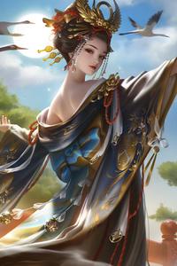 Queen Of Ancient City 4k