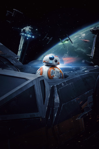 BB8 In Star Wars The Last Jedi 5k