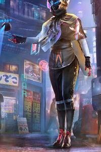 Rabbidroid Scifi Girl 4k