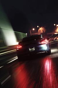 1080x2280 Racing Cars Wrapped Dark 4k