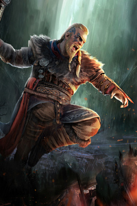 Ragnar Lothbrok Assassins Creed Valhalla 4k