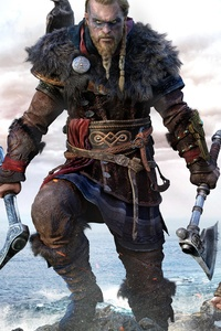 2160x3840 Ragnar Lothbrok Assassins Creed Valhalla 8k