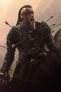 Ragnar Lothbrok Assassins Creed Valhalla Artwork 4k
