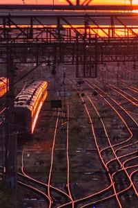 640x1136 Rail Road