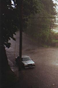Rain In Small Town