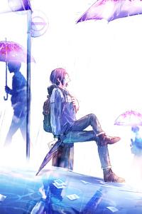 720x1280 Rain Not Affect Me 4k