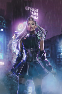 1080x2280 Rain On Me Ariana Grande