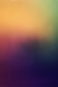 240x400 Rainbow Blur Abstract