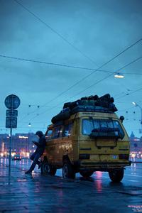 Rainy Day With Van Rider