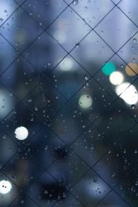 640x1136 Rainy Wind 5k
