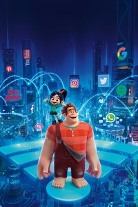 480x800 Ralph Breaks The Internet Wreck It Ralph 2 15k