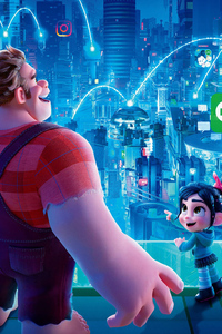 Ralph Breaks The Internet Wreck It Ralph 2 Chinese Poster