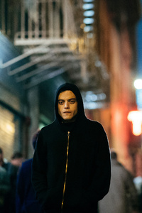 1242x2688 Rami Malek As Elliot Alderson Mr Robot Season 3