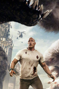 640x1136 Rampage Chinese Poster 2018