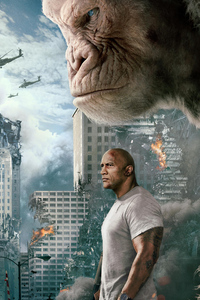 Rampage Dwayne Johnson Movie