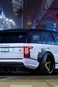 1125x2436 Range Rover Art