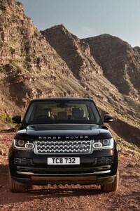 Range Rover Black SuV