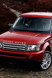 Range Rover Red
