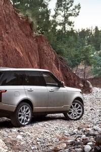 Range Rover Rock Mountains