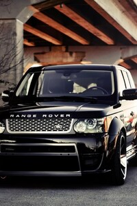 Range Rover Shining Black