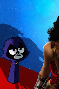 Raven In Teen Titans Go To The Movies 2018 Movie