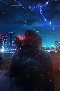 Raven Man 4k