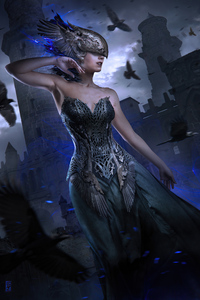 Raven Queen 4k