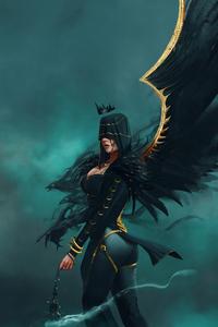 Raven Witch 4k