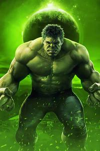 240x320 Ready For Hulk Smash