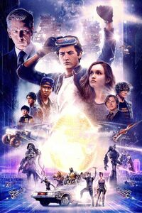 Ready Player One 2018 80s Poster
