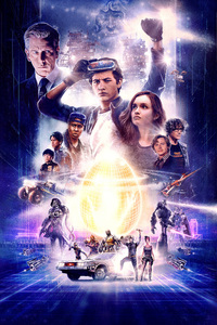 Ready Player One Movie Poster Artwork