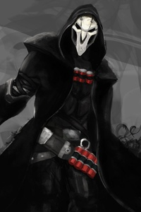 Reaper Overwatch 4k