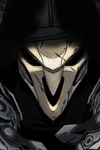 Reaper Overwatch Art 4k
