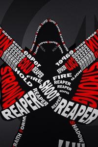 Reaper Typography Overwatch