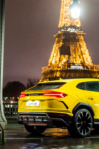 Rear Side Of Lamborghini Urus 4k