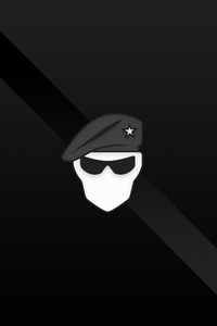 Recruit Minimal Logo 4k
