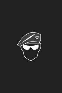 Recruit Minimalist Logo 4k