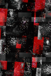 360x640 Red Abstract Graphics Colors 4k
