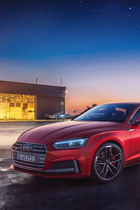 750x1334 Red Audi New