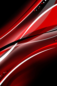 Red Black Color Interval Abstract 4k