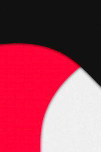 240x400 Red Black Grey Shapes Abstract 4k